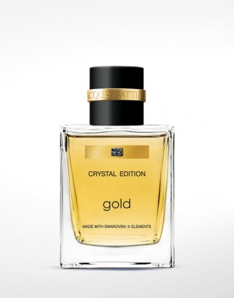 Gold Man 50ml made with Swarovski elements