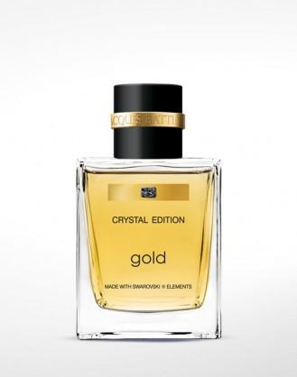 Gold Man 50ml made with Swarovski elements