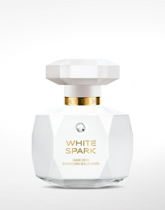 Spark White 50ml made with Swarovski elements