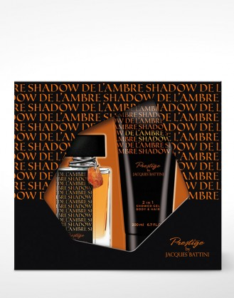 KOMPLET De L'ambre Shadow 50ML EDT + Shower gel